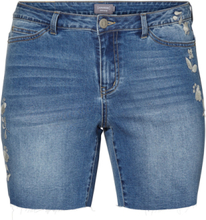 JUNAROSE Denim Shorts Women Blue