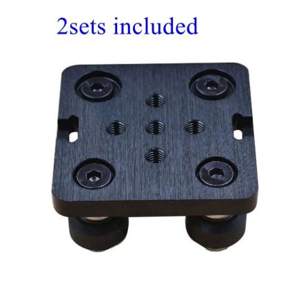 2sets Openbuilds Mini V Gantry Set V Gantry plate special slide plate F/ aluminum profiles V-slot Mini V Linear Actuator System