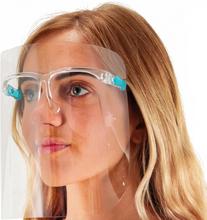 Beskyttelses brille med skjerm inkl, 5 skjermer