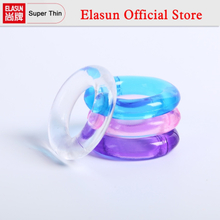 6PCS Lasting Donuts Silcone Cock Rings Delaying Ejaculation Penis Ring Flexible Glue Sex Toys for Men