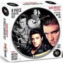 Presley Elvis: Coaster set 8 delar