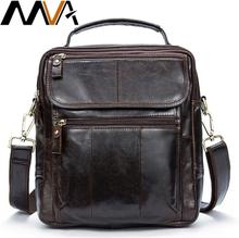 MVA men's shoulder bag for men men's genuine leather bag male messenger bags small fashion crossbody bags leather handbags 8870