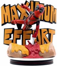 Marvel Q-Fig Max Statyett, Deadpool - Maximum effort
