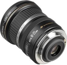 EFS 10-22mm f/3.5-4.5 USM Sort & Sølv Objektiv til Canon