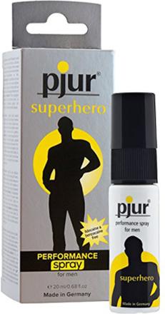 Pjur Superhero Performance Spray 20ml Uthållighetshöjande Spray