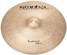 "Istanbul Agop 24"""" Traditional Dark Ride"