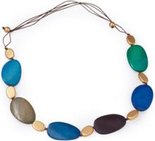 Halsband färgade trädetaljer från Peter Hahn beige