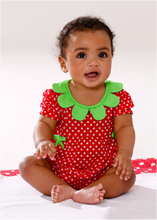 Baby jumpsuit met korte mouwen, biologisch katoen