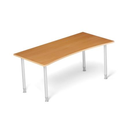 Skrivebord Profi 70 Bøg 1800x900mm I-ben