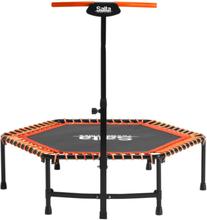 Salta fitness trampolin - Ø 128 cm - Sort/orange
