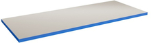 Bordsskiva Tung 40 1200x800 Grå HPL Blå ABS kant