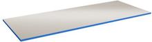 Bordsskiva Lätt 24 mm 800x800 Grå HPL Blå ABS kant