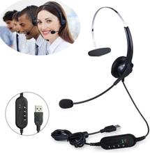 Kuulokemikrofoni VOIP Puheluille - USB