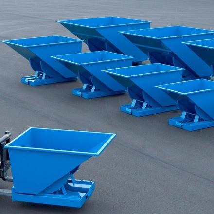 Tippcontainer 900L