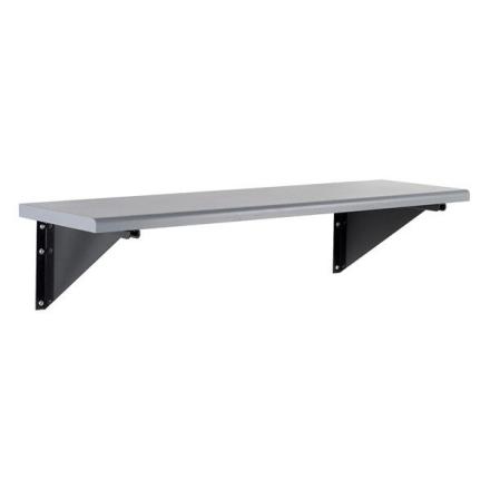 Sittbänk vägghängd 1100mm Laminat grå