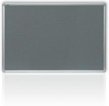 Anslagstavla Grå filt 900x600mm