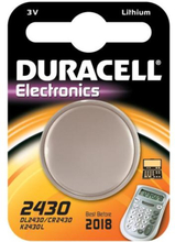 Duracell Electronics CR2430 Lithium Batteri - 1 stk.