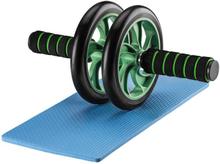 Mage treningshjul med kneplater