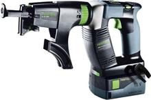 Festool DWC 18-4500 Li 5,2-Plus DURADRIVE Skruvautomat med batterier och laddare