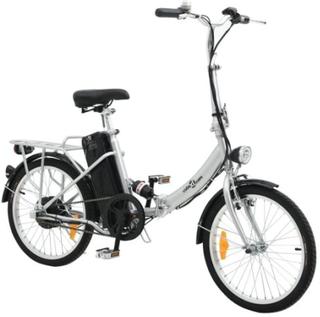 vidaXL Sammenfoldelig El-cykel med Lithium-ion Batteri Aluminiumlegering