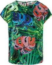 Blustopp holkärm och djungelprint från Peter Hahn mångfärgad
