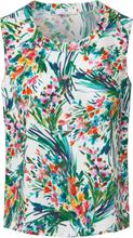 Rundhalsat linne i 100% bomull från Peter Hahn mångfärgad