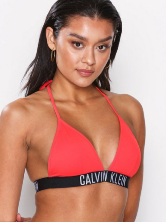 Topp - Diva Pink Calvin Klein Underwear Fixed Triangle Top