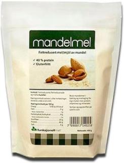 Funktionel Mad Mandelmel - Fedtreduceret (400 gr)