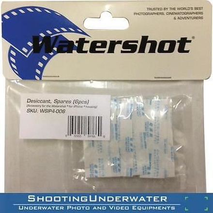 Watershot Desiccant (6) Pack PRO