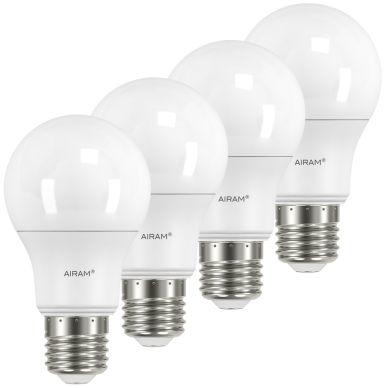 AIRAM Airam LED Normaalilamppu E27, 6W, 4-pakkaus