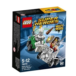 LEGO Super Heroes Mighty Micros: Wonder Woman mod Doomsda 76070 - wupti.com
