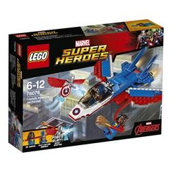 LEGO Super Heroes Captain America jetjagt 76076 - wupti.com
