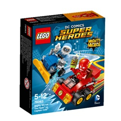 LEGO Super Heroes MightyMicros: Lynet mod CaptainCold™ 76063 - wupti.com