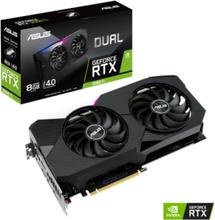 GeForce RTX 3060 Ti DUAL - 8GB GDDR6 SDRAM - Grafikkort