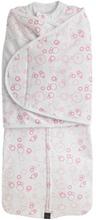 Mum2Mum Babyfilt Dream Swaddle rosa large 72x28 cm 16232