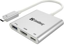 Sandberg USB-C Mini Dock HDMI+USB