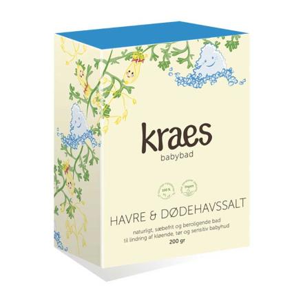 KRAES babybad Havre & Dødehavssalt, 200 g - REN Velvære