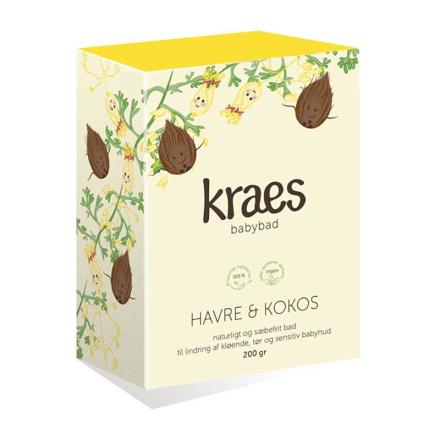 KRAES babybad Havre & Kokos, 200 g - REN Velvære