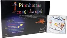 Klurica Pinnhättas magiska spel + CD Sagan om Sandra och Pinnhätta - 83% rabatt