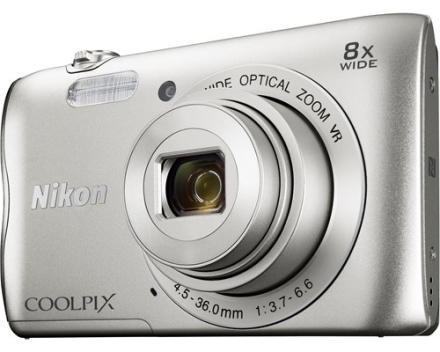 Nikon Coolpix A300 Sølv (VNA960E1)