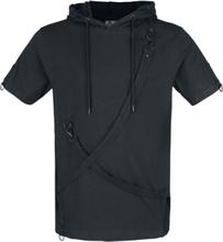 Poizen Industries - Lucius Top -T-skjorte - svart