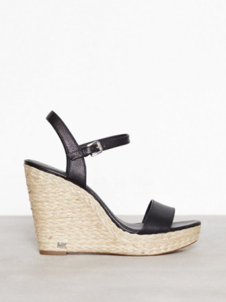 Wedge - Svart Michael Michael Kors Jill Wedge