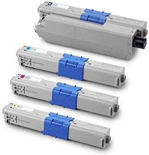Paket med 4st kompatibla toner till Oki C310/C510
