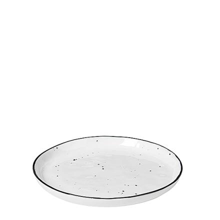Broste Copenhagen Salt m/prikker Tallerken Ø 14 cm