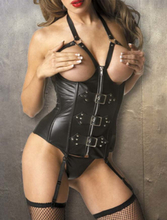 A9259 Leather Corset