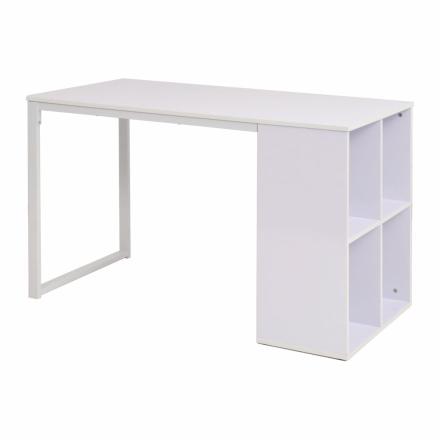 vidaXL skrivebord 120 x 60 x 75 cm hvid