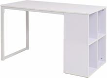 vidaXL Skrivbord 120x60x75 cm vit