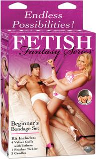Fetish Fantasy Beginner's Bondage Set - Purple