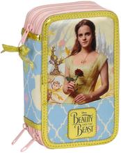 Disney Princess Belle 36-delars Trippel Fyllt Pennfodral Skolset
