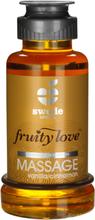 Swede - Fruity Love Värmande Massageolja Vanilla/Cinnamon 100 ml